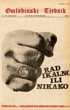 Zagreb - 1968. - Omadinski tjednik - časopis