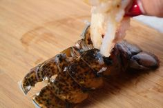 Cajun Lobster Tail - Coop Can Cook