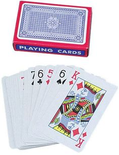 Economy Playing Cards Case Pack 8