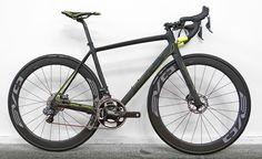 EB16: BH drop details on new disc brake Ultralight EVO Disc road bike