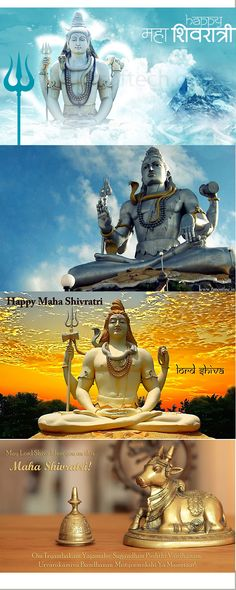 Happy Maha Shivratri :) MAy Lord Shiva destroy all that is evil in your life and bless you with lot of happiness.
