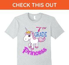 Mens 7th Grade Princess shirt - Seventh Grade for Daughter Shirt XL Heather Grey - Relatives and family shirts (*Amazon Partner-Link)