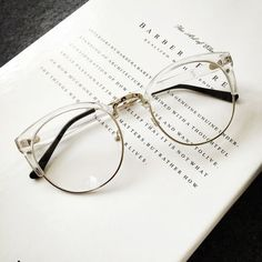 HONEYMIX. - Clear Frame Glasses                                                                                                                                                                                 More