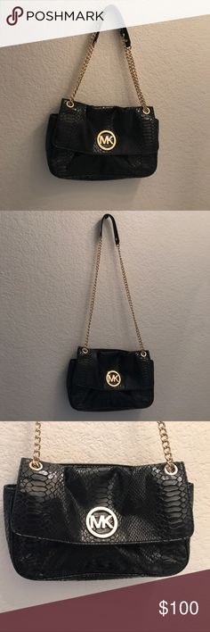 Micheal Kors Crocodile Bag Crossbody Authentic and in very good condition Michael Kors Bags Crossbody Bags