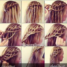 Complicated basket braid