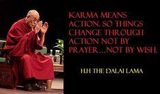 Karma   Dalai Lama   Quote