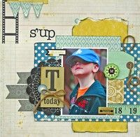 A Project by marthasdaughter from our Scrapbooking Gallery originally submitted 01/14/13 at 04:11 PM