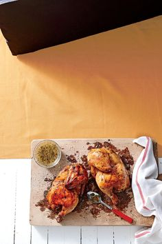 Smoky Barbecue Recipes: Smoked Chicken with Fresh Herb Marinade