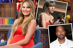 Watch: Chrissy Teigen Slams Kanye West & Taylor Swift Feud - RadarOnline