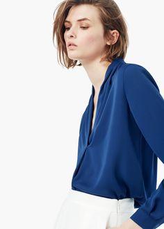 Fließende bluse | MANGO