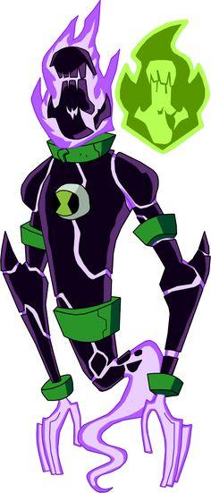 Biomnitrix Unleashed - Ghostblast by rizegreymon22.deviantart.com on @DeviantArt