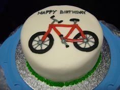 bicke cake happy birthday | Chocolate Bicycle Birthday Cake