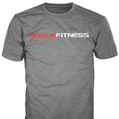 Rogue Fitness - Rogue Fitness Classic Shirt - Gray (large) I also like the black version of this