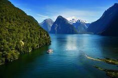 Cruise options, South Island of New Zealand