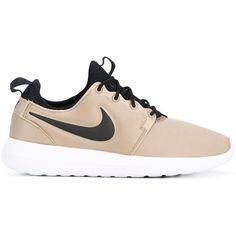 Nike Roshe Two sneakers ($106) ❤ liked on Polyvore featuring shoes, sneakers, nike, beige shoes, chunky shoes, lightweight shoes and nude shoes