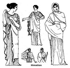 Making a Triboun or Himation