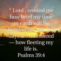 Psalms 39:4
