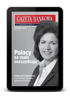Gazeta Bankowa prezentuje syntezę bieżących informacji z branży finansowej.  Wydawca: Apella S.A., Wersja Android OS.