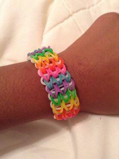 DIY rubber band bracelets