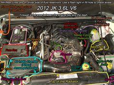 JK parts labeled - Jeep Wrangler Forum
