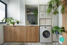 Lastest Home Design. Getting Bored With Your Home? Use These Interior Planning Ideas. Laundry Room Layouts, Laundry Room Design, Laundry Area, Laundry Rooms, Interior Design Singapore, Interior Design Kitchen, Room Interior, Interior Ideas, Home Design