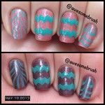 Thermal Chevron and Watermarble