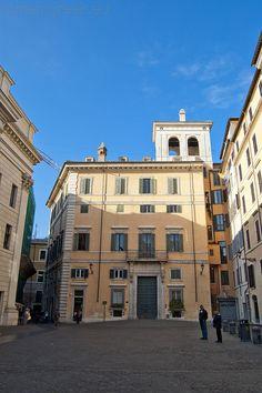 Piazza di Pietra, Rome Italy