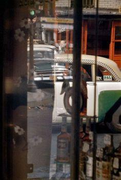 Saul Leiter, Taxi 1956