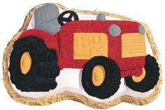 "Amazon.com: Neww Novelty Cake Pan-Tractor 13.5""""X9.5""""X2"""" Neww: Arts, Crafts & Sewing"