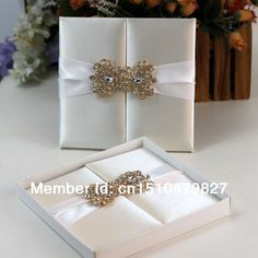 Cheap invite pin, Buy Quality invitations fold directly from China invitation birthday cards to print Suppliers: Free Shipping !!! HI2003 - Hot Sale Silk Folio Wedding Invitation with Rhinestone BroochProduct Descri
