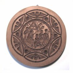 Nativity cookie mold. large