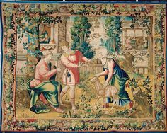 2. Disput zwischen Tobit und Hanna Medieval Manuscript, Renaissance, Painting, Art, Art Background, Painting Art, Kunst, Paintings, Performing Arts
