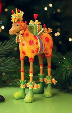 Patience Brewster Maisy Horse Christmas Ornament