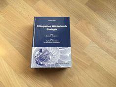 Bilinguales Wörterbuch Biologie Deutsch-Englisch mit phonet. Transkription, 2005