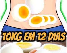Dieta Do Ovo Cozido Para Perder 10 kg em Apenas 12 Dias | RECEITA FENOMENAL