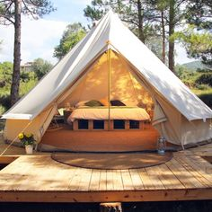 Forest Days Glamping Catalonië Spanje