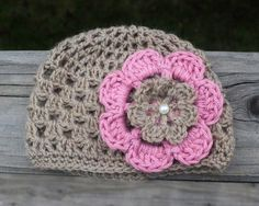 Ready to Ship: PREMIE crochet baby hat on Etsy, $12.00