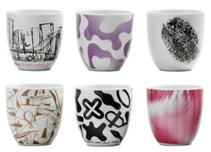 The Karim Rashid mugs for @BoConceptBellevue, simply beautiful