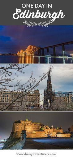 1 Day in Edinburgh, Scotland