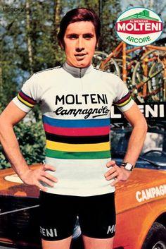 Eddy Merckx 1974 Wereldkampioen - Champion du Monde - Campione del Mondo - World Champion-Montreal