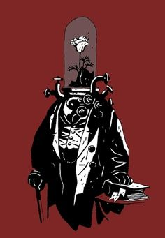 random Mike Mignola steampunk guy