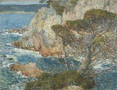 F. Childe Hassam (United States, Massachusetts, Boston, 1859-1935), Point Lobos, Carmel, 1914, Los Angeles County Museum of Art, Mr. and Mrs. William Preston Harrison Collection (29.18.2)