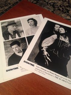 Scarlett Letter & Powder - 2  8x10 B&W production stills