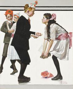 Norman Rockwell, Pardon Me (1918)