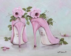 Google Image Result for http://images.fineartamerica.com/images-medium-large/shoes-and-roses-gail-mccormack.jpg
