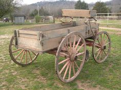 John Deere One-Horse Wagon Horse Wagon, Small Yard Landscaping, Transportation Technology, Wooden Wagon, Wagon Wheels, Old Wagons, Horse And Buggy, Covered Wagon, Garage Tools