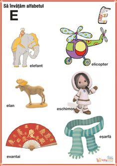 fise imagini reprezentative ale literelor din alfabet | Cu Alex la gradinita Oracle Cards, Kids Education, Alphabet, Homeschool, Letters, Learning, Logos, Disney Characters, Crafts