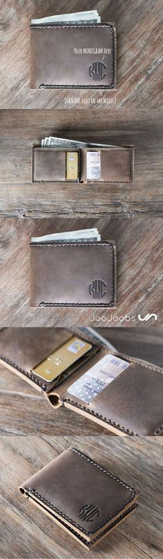 Awesome x 100 !! This wallet is the perfect gift idea. We hand make all our wallets with full grain distressed leather. This wallet, you get to tell us the initials of the gift recipient and we brand them into the leather. You are guaranteed to love this