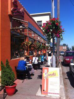 Sacks Cafe. Delicious contemporary cuisine in downtown Anchorage, Alaska.