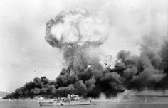 The Japanese attack on Darwin, Australia – February 19, 1942